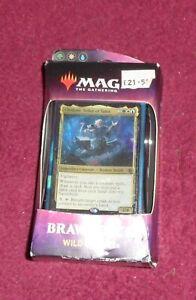 MTG - Magic: the Gathering Throne of Eldraine Brawl Deck : Wild Bounty :: New &