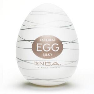 Tenga Egg Silky Masturbator - Free Shipping