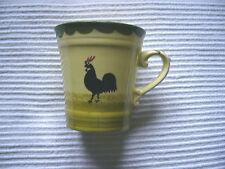 Becher, Kaffeebecher, Trinkbecher, Hahn und Henne, Zeller Keramik, unbenutzt