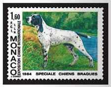 Timbre Chiens Monaco 1425 ** lot 18982