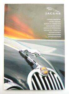 Original Jaguar X-Type Fahrerhandbuch Deutsch NEU Handbuch Bedienungsanleitung