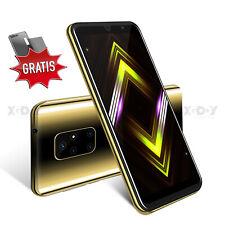 """4GB Android 5,5"""" Teléfonomóvillibre Smartphone 4 Core Dual SIM 3G GSM Barato"""