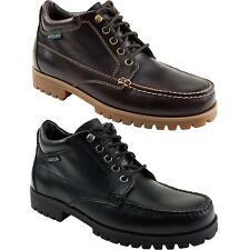 Mens Eastland Brooklyn Classic Moc Toe Lace Up Boots Shoes Burgandy or Black