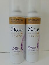 Dove Volume & Fullness Dry Shampoo Refresh Hair for Volume and Body 5oz.LOT OF 2