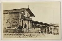 RPPC San Fransisco CA Mission Dolores California Entrance View Photo Postcard
