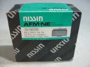 Nissin AF Module AFM-NE For Nikon F3-FE2-FM2-FG-FA-2020 (F501 Hot Shoe #17