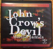 John Crow's Devil by Marlon James (2011, CD)
