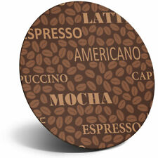 Awesome Fridge Magnet - Coffee Words Latte Americano Cool Gift #14409