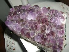 LOTTO Pietre GREZZE 250 Gr Cristallo Geode Drusa Minerale Fetta Burattato Lucido