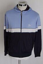 PUMA M vintage giacca zip jacket track top gabber felpa tuta A1327