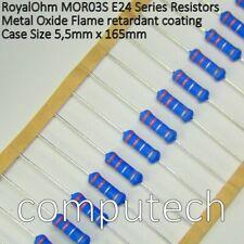 33 Ohm Resistenze 1 Watt ossido di metallo 5/% 20 pezzi
