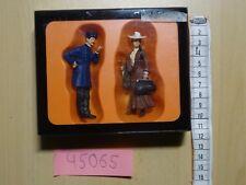 Preiser  G  1:22,5 Art 45065 Schaffner und Dame  handbemalt OVP/Neuware