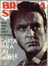 BRIGADA SECRETA nº167-CARTA PARA UN CADAVER-DIBUJOS GUAL ed.TORAY 1966