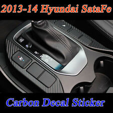 Gear panel Carbon Decal Point Sticker 4Pcs Set FOR HYUNDAI 2013-2014 SANTA FE
