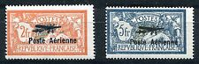 FRANCE 1927 EXHIBITION OF MARSEILLE AIR POST STAMPS SCOTT C1 - 2 MNH SEE SCANS