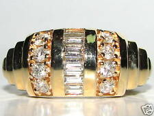 1.40ct BAGUETTE CHANNEL & FRENCH PAVE DIAMOND BAND+