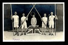 Barry - Winners Taff / Barry Maidens 1909 - real photographic postcard