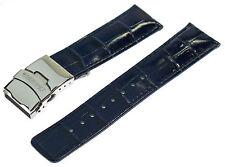 OFFERTA faltschliessenband Faltschliesse CHRONOTECH imitazioni BLU 22 mm