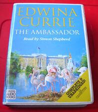 Edwina Currie The Ambassador 12-Tape UNABRIDGED Audio Book Simon Shepherd