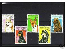 0933++BENIN   SERIE TIMBRES  CHIENS  N°2