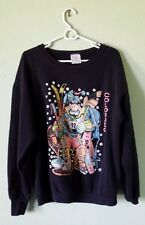 VTG 1980-1990 COLORADO SWEATSHIRT Ski Skiboard Snowshoe Hockey Winter Sport Dude