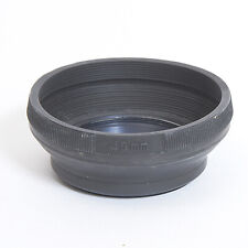 Rubber Collapsible Lens Hood 49mm #MH5