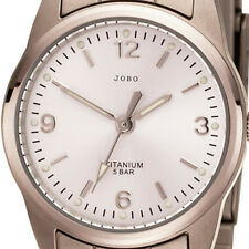 JOBO Damen Armbanduhr Quarz Analog Titan Damenuhr