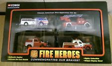 Corgi CSFH13004 Showcase Collection Fire Heroes Classic American Fire App. Set 4