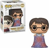 "HARRY POTTER WITH INVISIBILITY CLOAK  3.75"" POP VINYL FIGURE FUNKO NEW 112"