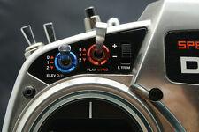 HKRC Transmitter Switch Cap Nut for Spektrum - Blue X 8 PCS