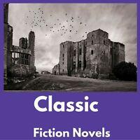 Classic Novels e-Book Collection Kindle~eReader~Nook~Kobo~PC|FREE BONUS|Data CD