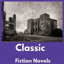 Classic Novels e-Book Collection Kindle~eReader~Nook~Kobo~PC|FREE BONUS|Data CD