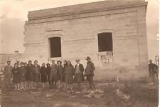 GITA PORTO CESAREO anno 1927  ( Lecce )  -  Vecchie case  - FOTO cm.16,8 x 11,3