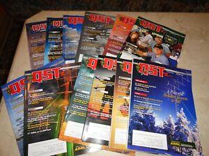 2009 ARRL Amateur Radio QST Magazine Complete 12 Issues