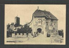 1910s EISENACH WARTBURG EINGANG GERMANY POSTCARD