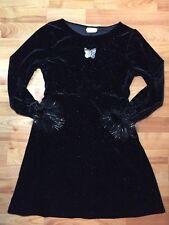 Rare Editions Girls Sz. 12 1/2 12 Plus Sparkly Holiday Dress EUC!
