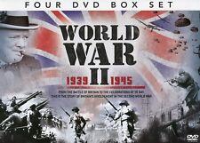World War 2 4 DVD SET Britain's involvement in WW2 D-Day, Battle Britain + More