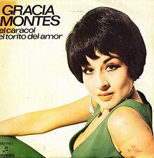 GRACIA MONTES- EL CARACOL + EL TORITO DEL AMOR SINGLE PROMO SPAIN 1971 GOOD