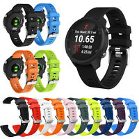 Silicone Watch Band Strap for Garmin Forerunner 645 245/Vivoactive 3/Vivovove HR