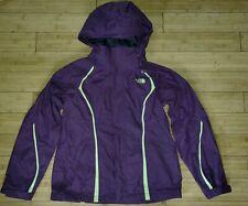 Women's North Face Purple Shell Raincoat Jacket Dry Vent Light Ski Snowboard