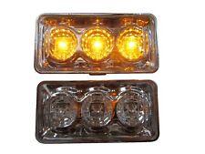 2 Seitenblinker LED Blinker Chrom für VW Vento Bj. 91-95