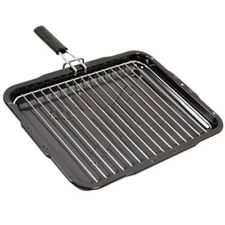 STOVES Genuine Large Oven Cooker Grill Pan Tray Detachable Handle 385 x 300