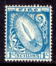 IRELAND #117 1sh BLUE, 1940 Wmk.262, VF, OG-NH