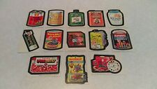 1975 Topps Wacky Packages Series 15 Stickers 13 Different EX HTF White Backs