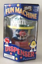 NIB M & M's Fun Machine Dispenser Candy Chocolate Official Collectible No Candy