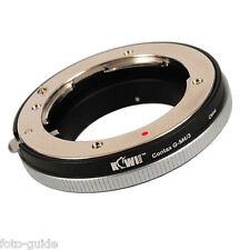 Adattatore Obiettivo Adattatore si adatta a obiettivo Contax a m4/3 sistema fotocamera