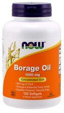 Borage Oil 1000 mg Now Foods 120 Softgel