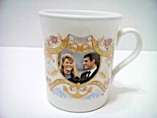 ROYAL WEDDING 1986 Prince Andrew Sarah Ferguson MUG CUP Made in ENGLAND EUC