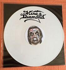 "NOTVD MEGARARE WHITE VINYL 12"" KING DIAMOND EP NIGHT 018 500 CPS MERCYFUL FATE"