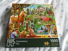 Corner Piece Puzzles 1000 piece Jigsaw Puzzle Summertime Fun